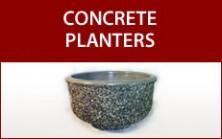 Commercial Concrete Planters