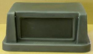 2 Door Square Plastic Lid