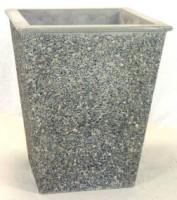Tall Square Concrete Planter
