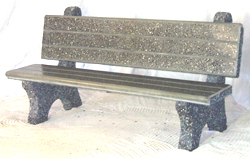 Commercial Concrete Park Bench