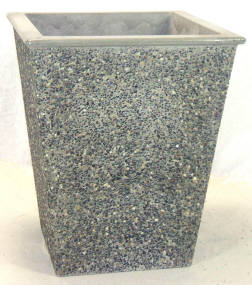 Tall Square Concrete Planter