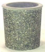 Concrete Barrel Planter