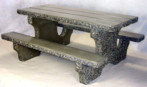 Groovy Concrete Tables Dominion Precast Home Interior And Landscaping Fragforummapetitesourisinfo