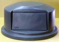 Round Grey Dome Plastic Lid
