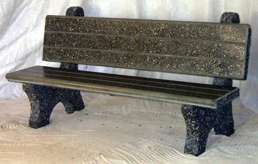 Commercial Park Bench Dominion Precast